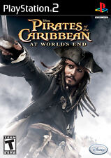 Pirates Of The Caribbean At World's End PS2 Game