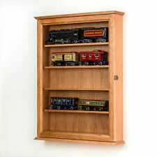 O Scale Train Display Case Wall Cabinet *Made in the USA*