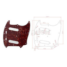 Guitar Pickguard for Fender Mustang Classic Series Parts Tortoise style 3Ply