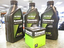 Kawasaki Genuine Oil Change Kit KVF750 750 Brute Force 2005 2011 10W-40 Filter