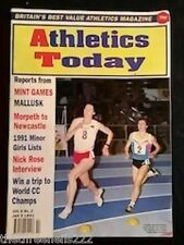 ATHLETICS TODAY - NICK ROSE INTERVIEW - JAN 9 1991