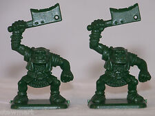 HERO QUEST board game PARTS 2 ORC w/HATCHET ~ Warhammer
