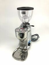 Mazzer Mini Electronic Doserless Espresso Grinder Type A - Silver