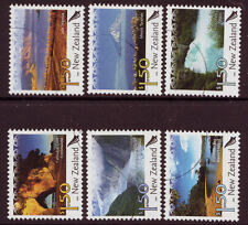 NEW ZEALAND 2006 SCENIC DEFINITIVES SET OF 6 FINE USED
