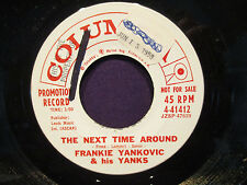Frankie Yankovic 'The Happy Polka/The Next Time Around' Promo 45