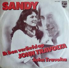"""7"""" 1979 NL-PRESS RARE MINT- ! SANDY : Ik ben verliefd op John Travolta"""