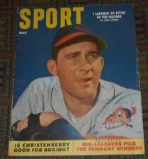 1953 Sport Magazine - Bob Lemon - Roy McMillan - Native Dancer - Carl Hubbell