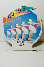 Vintage Go-Go's Vacation IRS Records Display 1980's New Wave