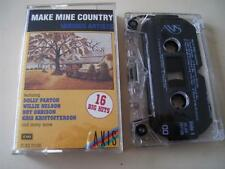 Make Mine Country; Various Artists, 1989- RARE Cassette Tape