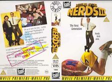 Revenge Of The Nerds III VHS Video Promo Sample Sleeve/Cover #8856
