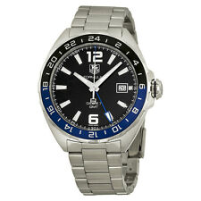 Tag Heuer Formula One Automatic Black Dial Stainless Steel Mens Watch