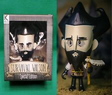 Don't Starve Special Edition Bearded Survival Wilson Vinyl Figure & Fire Pit NIB