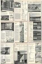 1959 Plant And Laboratories, Duxford, Araldite Design, Plans