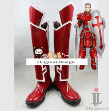 Sword Art Online SAO Heathcliff Boot Party Shoes Cosplay Boots Custom-made