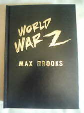***SIGNED & LETTERED*** World War Z An Oral History of the Zombie War Max Brooks