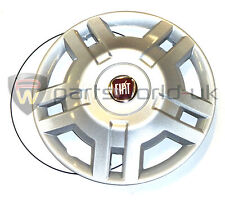 "Fiat 15"" Inch Wheel Trim for the Fiat Ducato 2006  Red Badge Brand New Genuine"