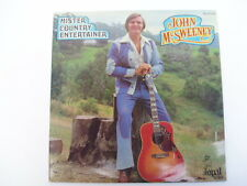 John McSweeney – Mister Country Entertainer – OPAL