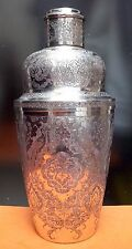 Antique Persian Sultan Sterling Silver Cocktail Shaker Hallmarked, 490 grams