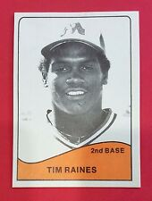 Tim Raines (Hall of Famer) 1979 MEMPHIS CHICKS MINOR LEAGUE 24-CARD LIMITED SET!