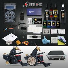 New Luo's Tattoo Kits Professional Fashion 8 Tattoo Ink Hurricane Power Supply
