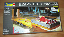 Revell  Heavy Duty Trailer, Revell 07533 Bausatz Kit in 1: 25
