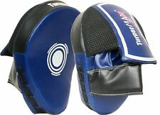 TurnerMAX Focus Mitts Boxing Pads MMA Focus Pads Blue Black Curved