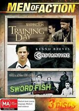 Training Day / Constantine / Sword Fish (Men of Action Tripple pack movies) DVD