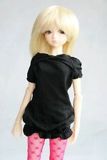 [wamami]108# Black Clothes/Dress 1/4 MSD AOD DOD DZ BJD Dollfie