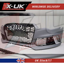 RS6 STYLE FRONT BUMPER CONVERSION FOR AUDI A6 / S6 (C7) 2011-2015