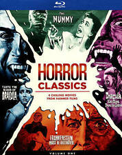 Horror Classics: 4 Chilling Films from Hammer Films (Blu-ray Disc, 2015,...