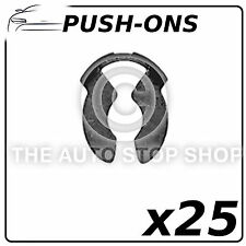 Fasteners Circular Push-Ons Retainers 6 MM Renault Master - Zoe 1393 25 Pack