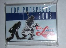 2008 MIDWEST LEAGUE 'A' Top Prospects Complete Set (Frazier/Moustakas/Revere)