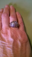 John Hardy Sterling Dot Dome Ring, size 6