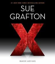X by Sue Grafton 2015 Abridged Audiobook 6-CD Set VG Cnd $32 Value! Fst Ship