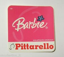 ADESIVO ORIGINALE / Original Sticker BARBIE MATTEL PITTARELLO (cm 9 x 9)