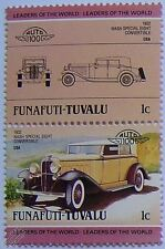 1932 NASH SPECIAL EIGHT Car Stamps (Leaders of the World / Auto 100)