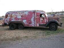 1949 International KB 6 Tandem Van Truck K 1 2 3 4 5 7 8 10 11 12 14 15 30 45 D