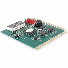 High Quality 4-Digit PC Motherboard Diagnostic Post Card PCI ISA Analyzer Teste