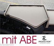 LKW Ablage Tisch passend Scania R ab 2009 Mittelablagetisch mit ABE beige