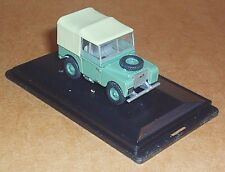 """OXFORD DIECAST LAND ROVER SERIES 1 80"""" (HUE) SAGE GREEN 1:76 SCALE MODEL CAR TOY"""