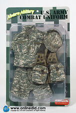 DRAGON IN DREAMS 1/6 MODERN US CARDED U.S. ARMY COMBAT UNIFORM - ITEM NO: E60051