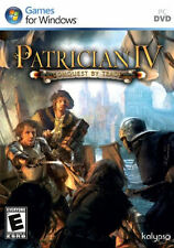 PATRICIAN IV 4 Conquest By Trade  - Middle Ages Strategy PC Game - BRAND NEW!
