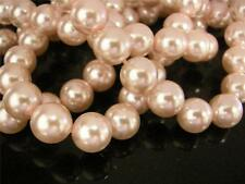 12pc 12mm glass pearl round beads-332