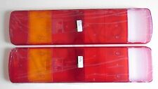 2x Rear Tail Light Lens Lenses SCANIA SERIES 4-P-G-R-T 1996  E4 Marked L=R Side