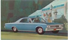 Chevrolet Chevelle SS-396 Sport Coupe 1967 original USA issued Postcard