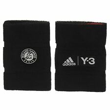 Adidas Y3 Roland Garros Originals Large Oversize Tennis Wristbands Sweatbands