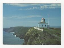 Cape Spear Newfoundland Canada 1994 Postcard 351a ^