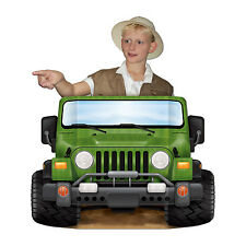 94cm Jungle Safari Jeep Photo Prop - Animal Adventure Explorer Party Decoration