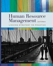 Human Resource Management, Brown, Kenneth G., Stewart, Greg L., Good Book