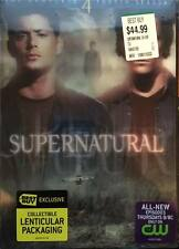 Supernatural - Fourth Season 4 DVD Best Buy Lenticular Pack Exclusive Brand New